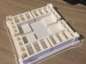 8x10 Glass plate corners for Flashforge Creator Pro