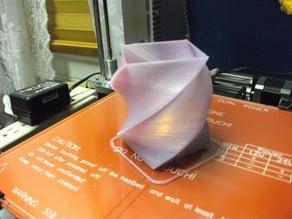 Twisted Tea Light Holder