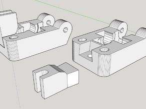 Extruder Idler with replaceable guider