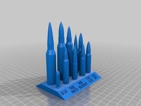 Rifle Cartridge Stand