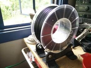 Rigid Universal Filament Spool Roller Stand (RUFSRS)