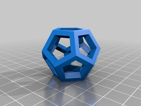Dodecahedron 3Dimensional Logo
