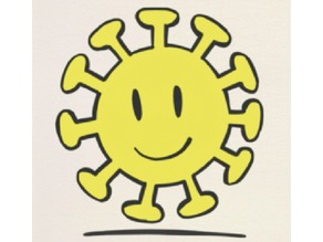 Sun (from Nichijou) + keychain version