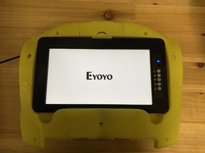 "InMoov 8"" Eyoyo Monitor mount and NUC8BEK mount"