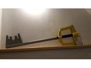 Kingdom Hearts Sora Keyblade 1:1 scale