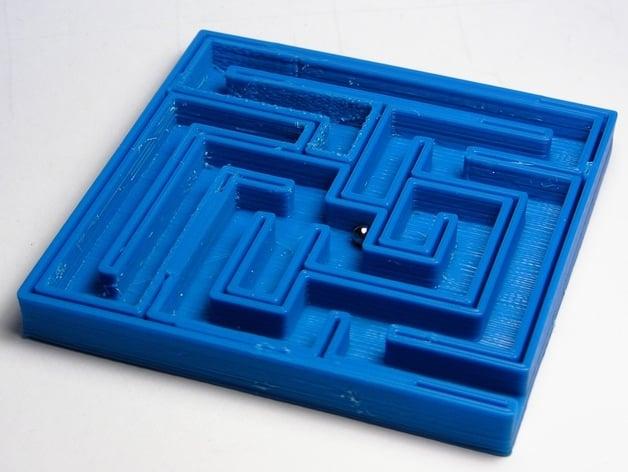 Ball Maze By Cibomahto Thingiverse