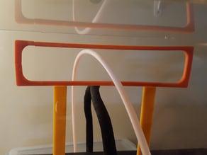 Qidi Tech Acrylic Printer Cover Full Filament Guide / Acrylic Straightener