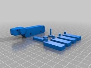 Simple Peg Dog Toy