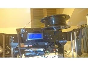 Anet A8 Horizontal Filament Holder