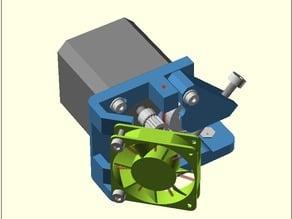 Extruder-X universal -1.75/3mm, direct drive extruder, Nema 17/23