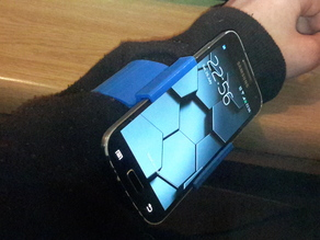 S4 mini wrist mount