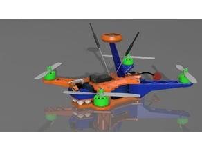 MQ330 Grasshopper Quadcopter Frame