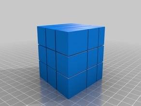 rubik's cube wierd cube