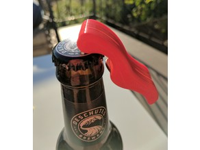 Penny Bottle Opener with Embedded Magnet