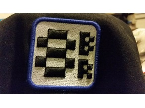 8-Bit Ryan puffy patch