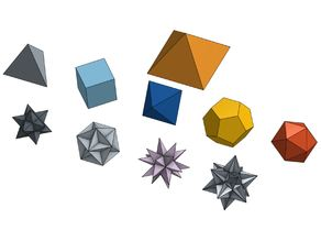 Platonics Solids, and more...