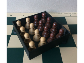 Chess set storage and transport cases