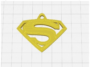 Llavero de Superman - Superman Keychain