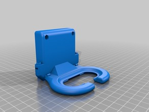 CTC Cooling Fan Duct 60mm fan v2.0 (Dual Extrusor Version), Makerbot Replicator 1, Flashforge, Duplicator 4