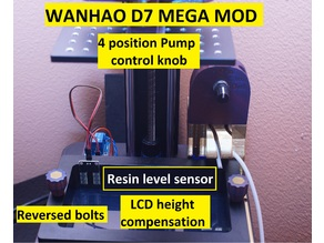 Wanhao D7 MEGA MOD