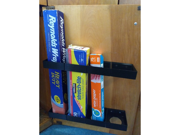 Kitchen Wrap Organizer (Costco size) by hackdiggery ...