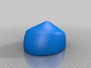 Pointed Crown Hat Block