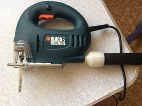 Black&Decker CD301 Vacuum adapter