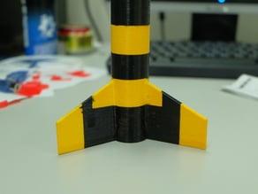 PVC gun Rocket