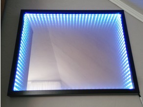 DIY LED Infinity Illusion Mirror
