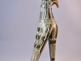 Horus statue