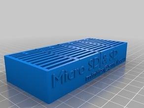 Micro SD & SD Card holder