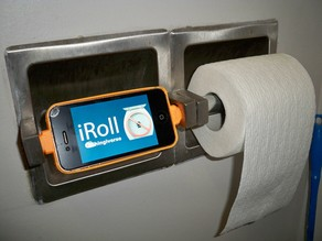 iRoll - Flush Prevention for Your Essential Reading Material