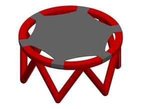 Miniature Trampoline [Functional] [Dual Material]