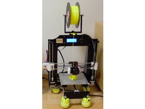 PLA  filament Guider for Rotary Spool Holder