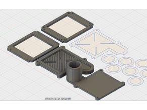 3D printable simple vacuum former