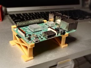 Raspberry Pi mounting bracket (for FFCP)