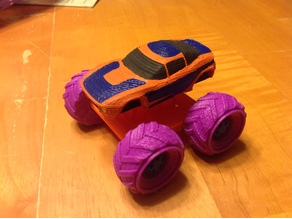 Mini Monster Rally Fighter With Suspension - REMIX