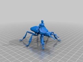 Beetle Man Beast Rider Knight
