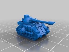 Epically Tiny Martian Predatory Tank