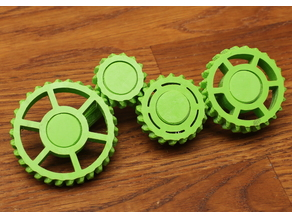 Simple involute gear OpenSCAD library