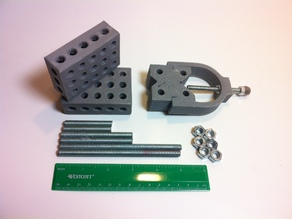 1-2-3 Block & V-Block Jig Set