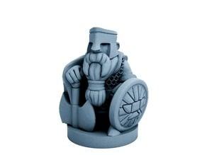 Dwarfclan Hold Guardian (18mm scale)