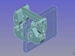 y-axis belt tensioner (Prusa i3 Hesine)