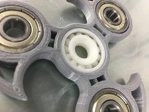 608 'fidget spinner' bearing - fully 3d printable