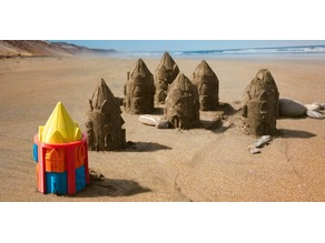 Customizable Sand Castle Mold