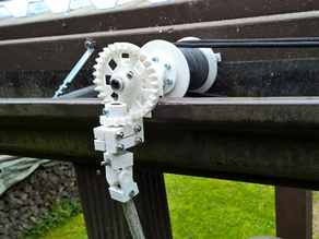 Automatic drainpipe cleaner (no electricity)