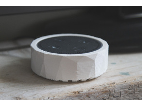 Low Poly Amazon Echo Dot cover/holder/wall mount
