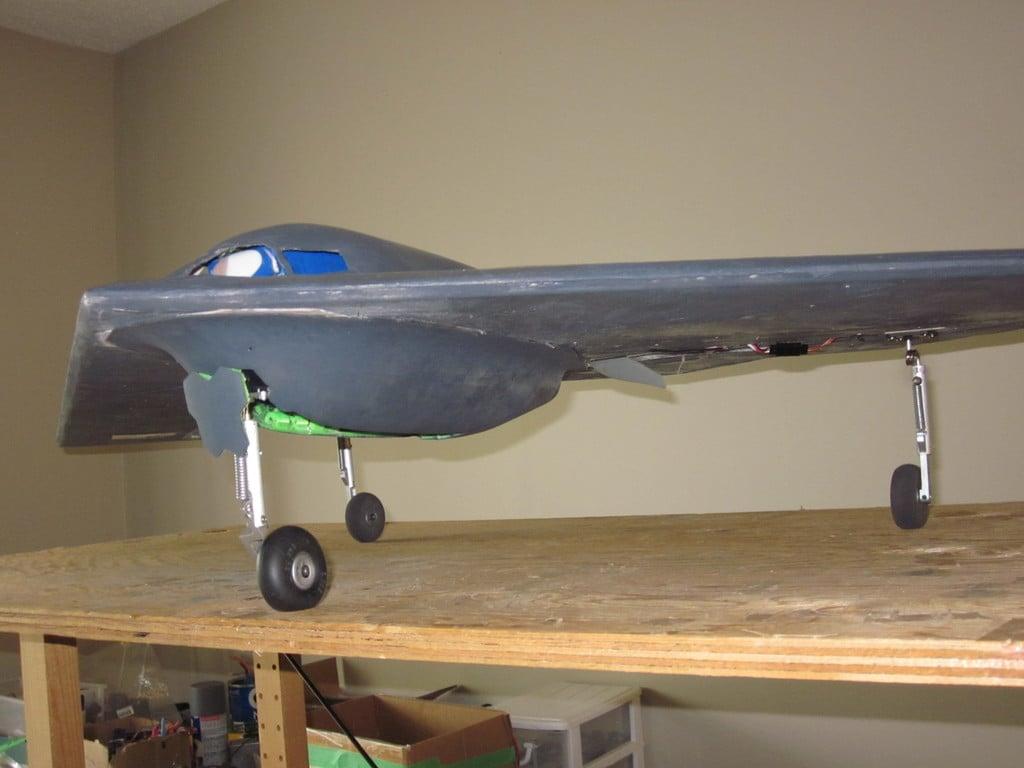 Mesa KFM B2 Bomber Canopy by canstarman - Thingiverse