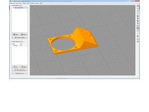 Frankenstein BLTouch / 3D Touch Holder - Flat remake