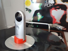 """LG 360 Cam to 12"""" record adapter"""
